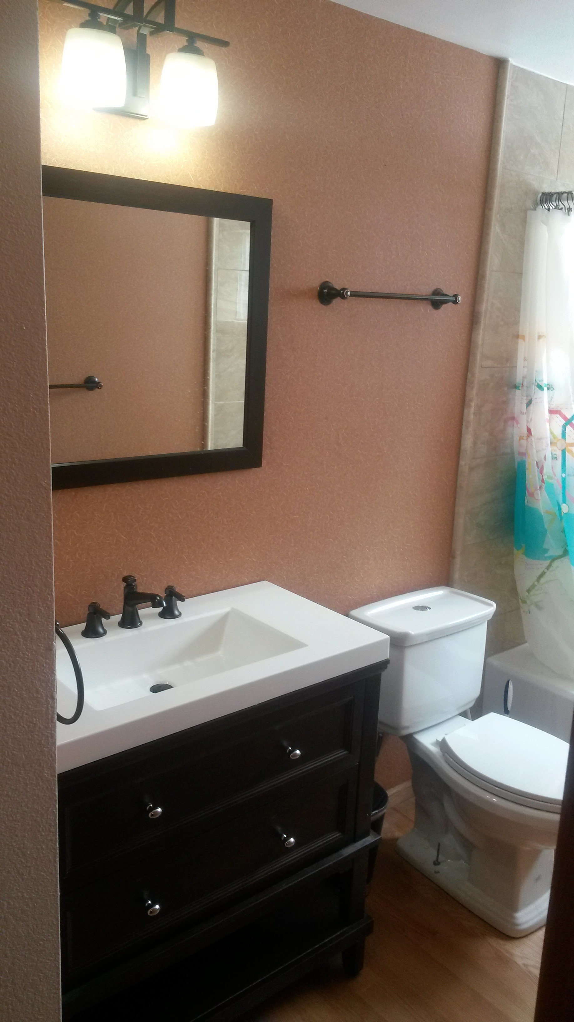 Bathroom fixtures denver co -  Mike Came In And Worked Quickly And Efficiently He And His Helper Took A Used Set Of Cabinets I Purchased And Made Them Look